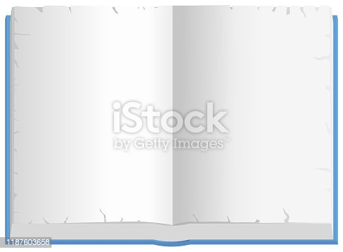 istock Notebook Weathered Paper 1187603658