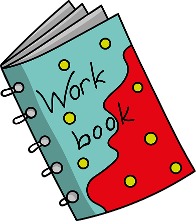 notebook, workbook of a student or schoolchild