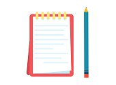 istock Notepad for entries 1256649708