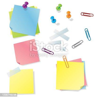 istock Notes kit 1200749296