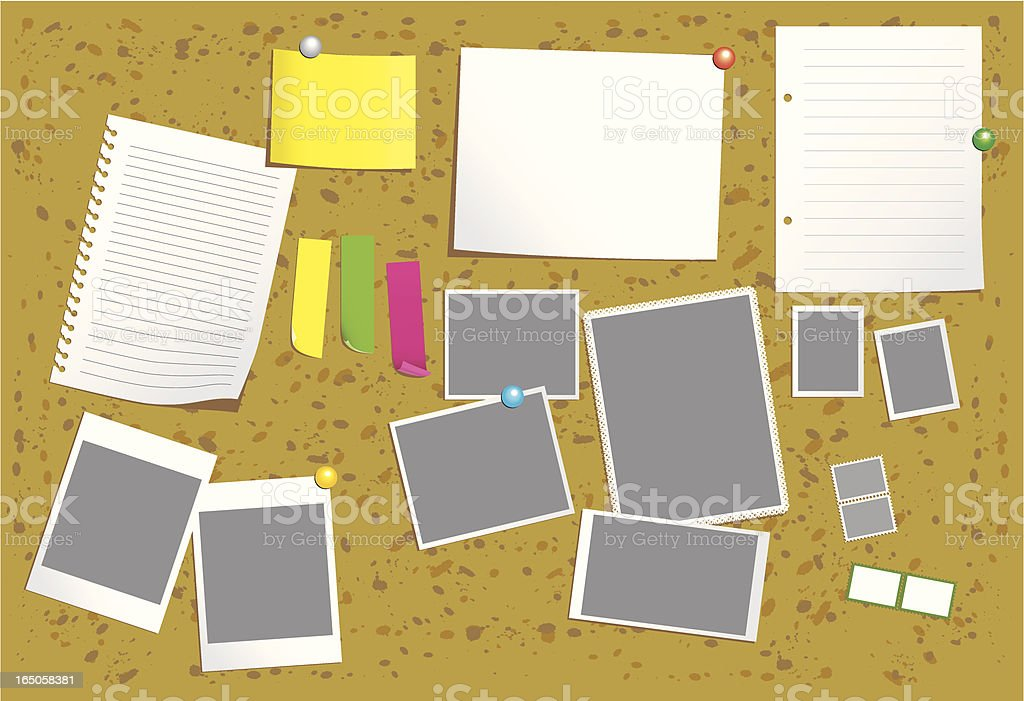 notice board royalty-free notice board stock vector art & more images of adhesive note