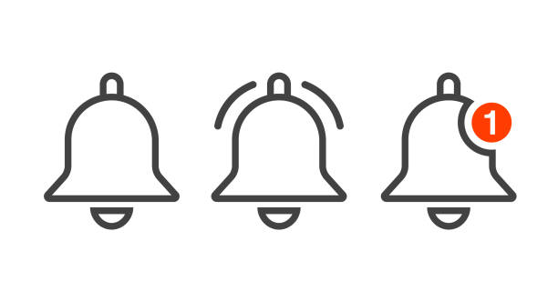 notification-bell-icons copy - reminder stock illustrations