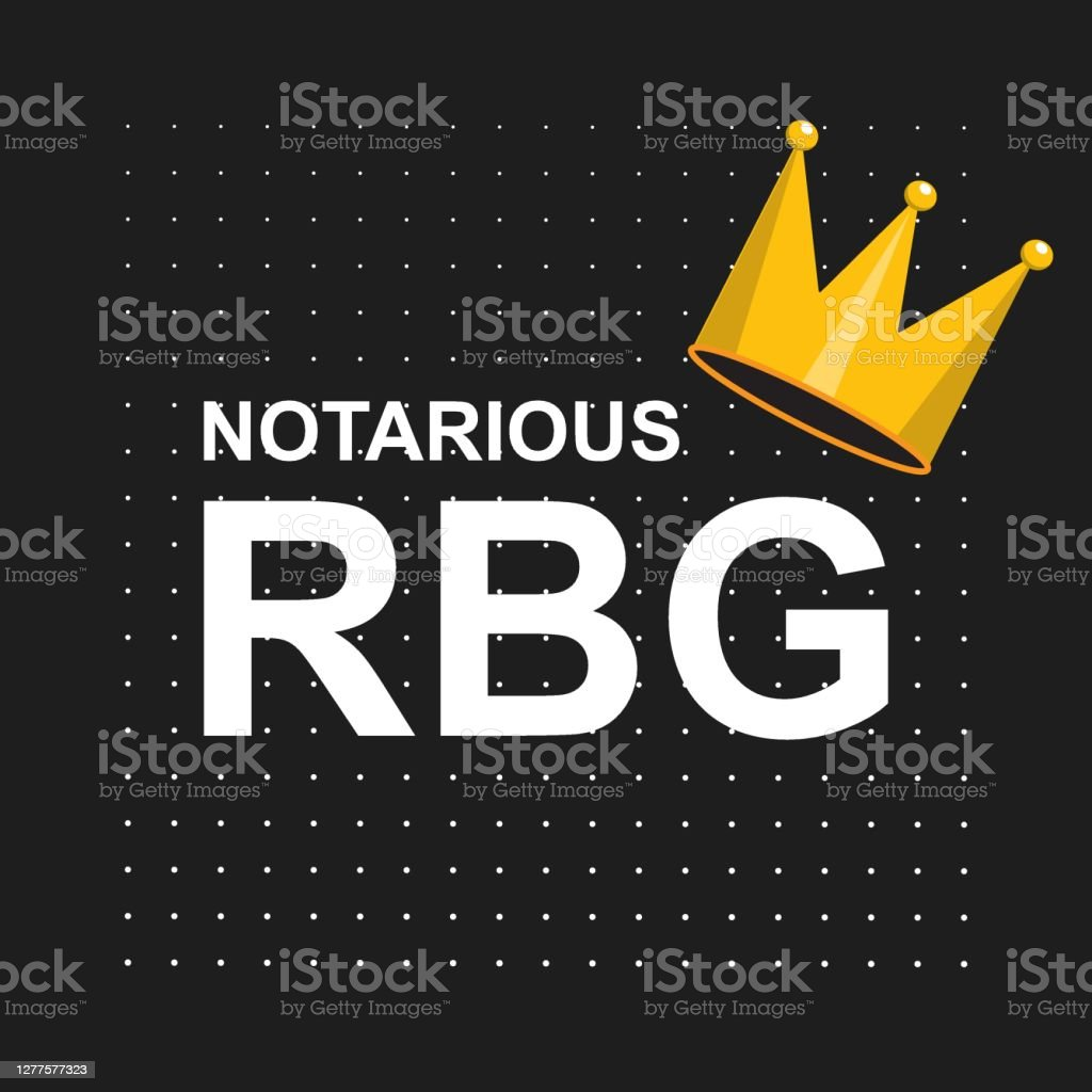 Notorious RBG background, banner, poster, sticker, t-shirt design Notorious RBG background, banner, poster, sticker, t-shirt design Arguing stock vector