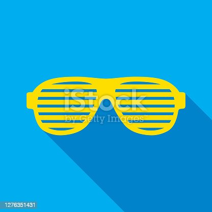 istock Novelty Glasses Icon 1276351431