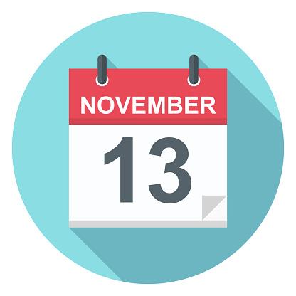 13 November