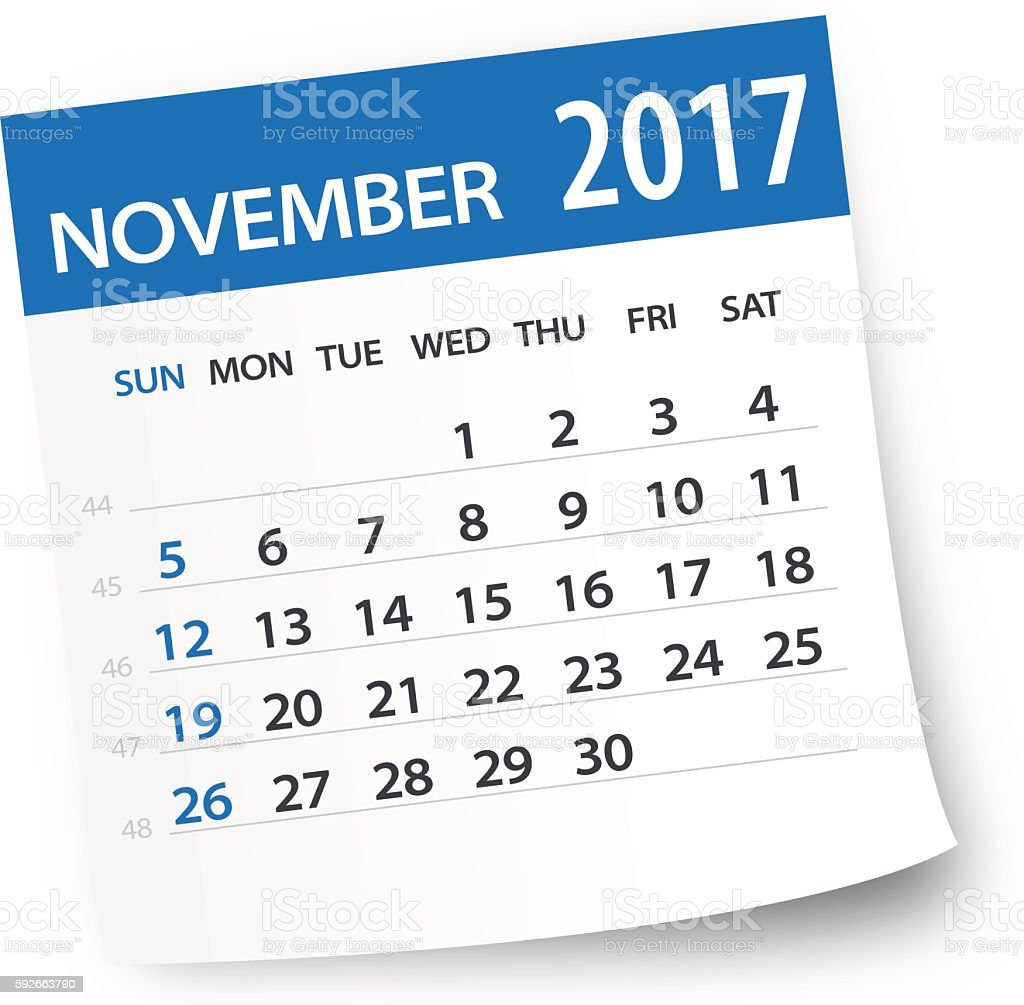 royalty free november calendar clip art vector images rh istockphoto com november calendar clipart free november calendar clipart free