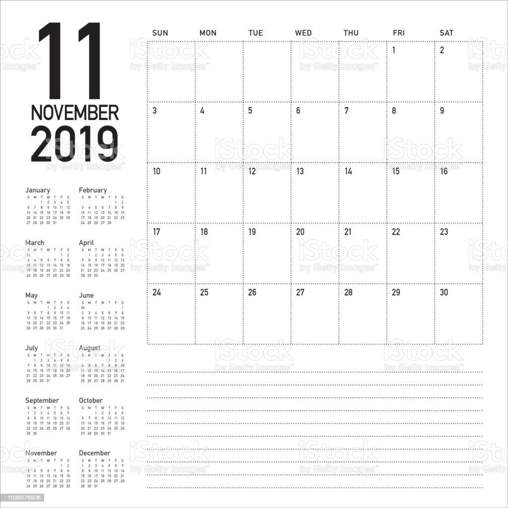 20 november 2019