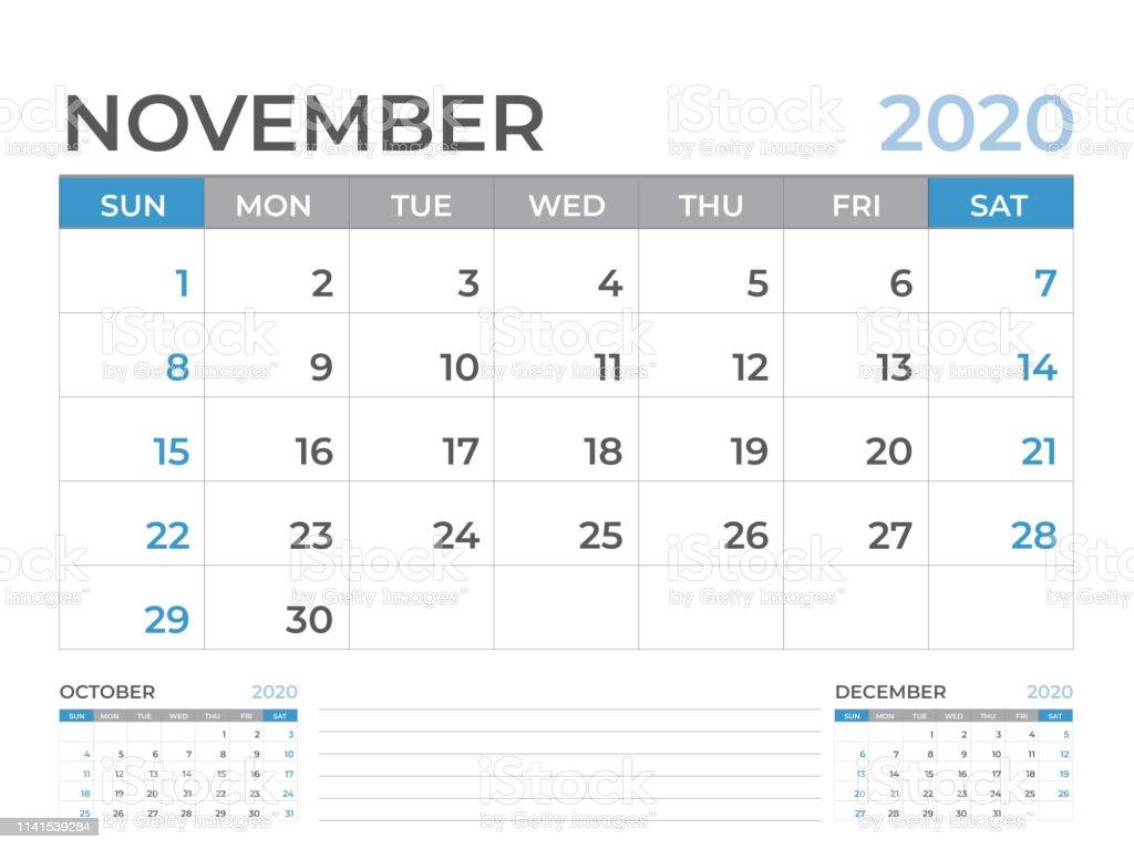 Calendario Laboral Madrid 2020 Excel.Calendario Noviembre 2020
