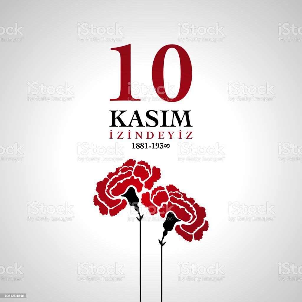 10 November, Death Day anniversary with carnation flower