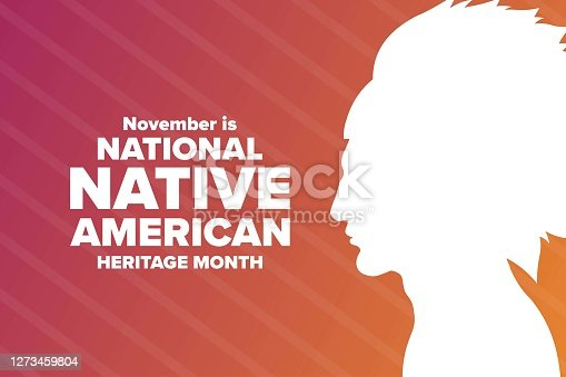 istock November is National Native American Heritage Month. Holiday concept. Template for background, banner, card, poster with text inscription. Vector EPS10 illustration. 1273459804