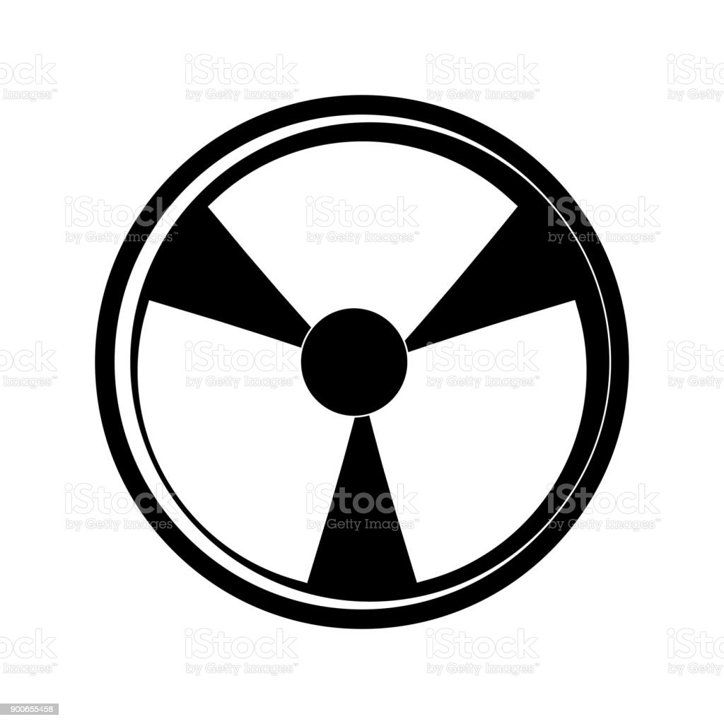 Nuclear Danger Symbol Cartoon Stock Vector Art More Images Of