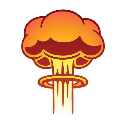 Nuclear mushroom cloud