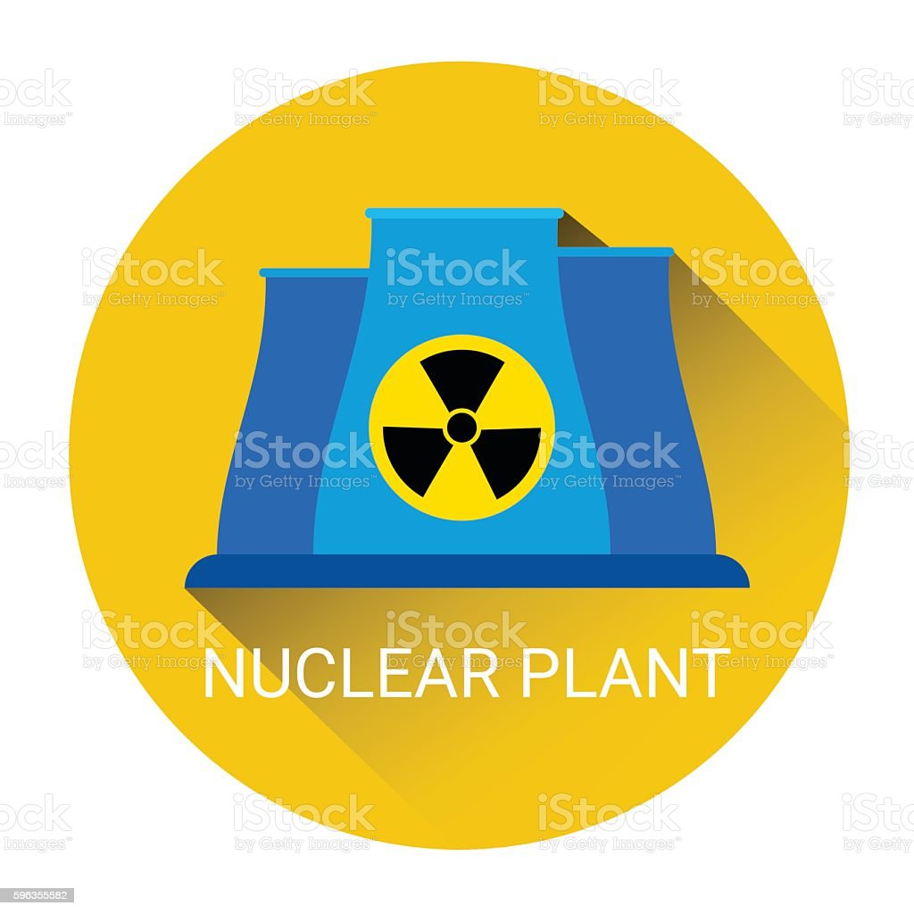 Nuclear Power Plant Icon royalty-free nuclear power plant icon stock vector art & more images of business