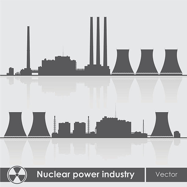 Royalty Free Power Plant Clip Art, Vector Images ...