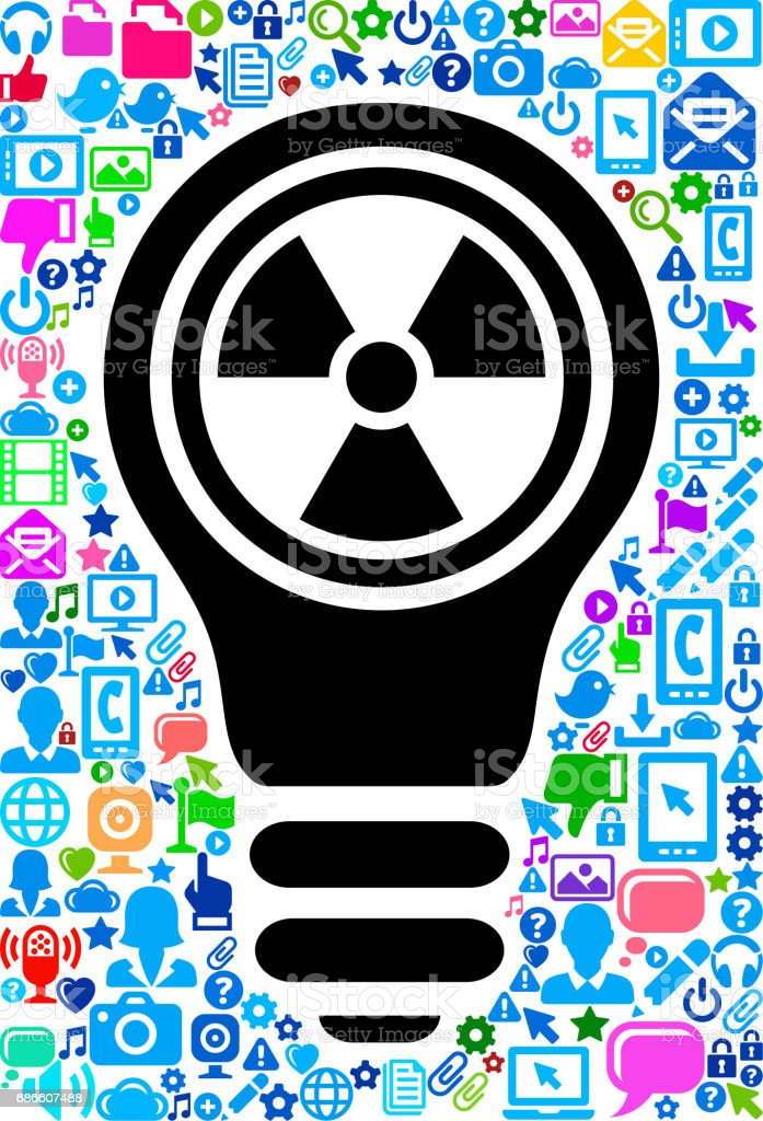 Nuclear Sign Technology Web Vector Background Pattern royalty-free nuclear sign technology web vector background pattern stock vector art & more images of adult
