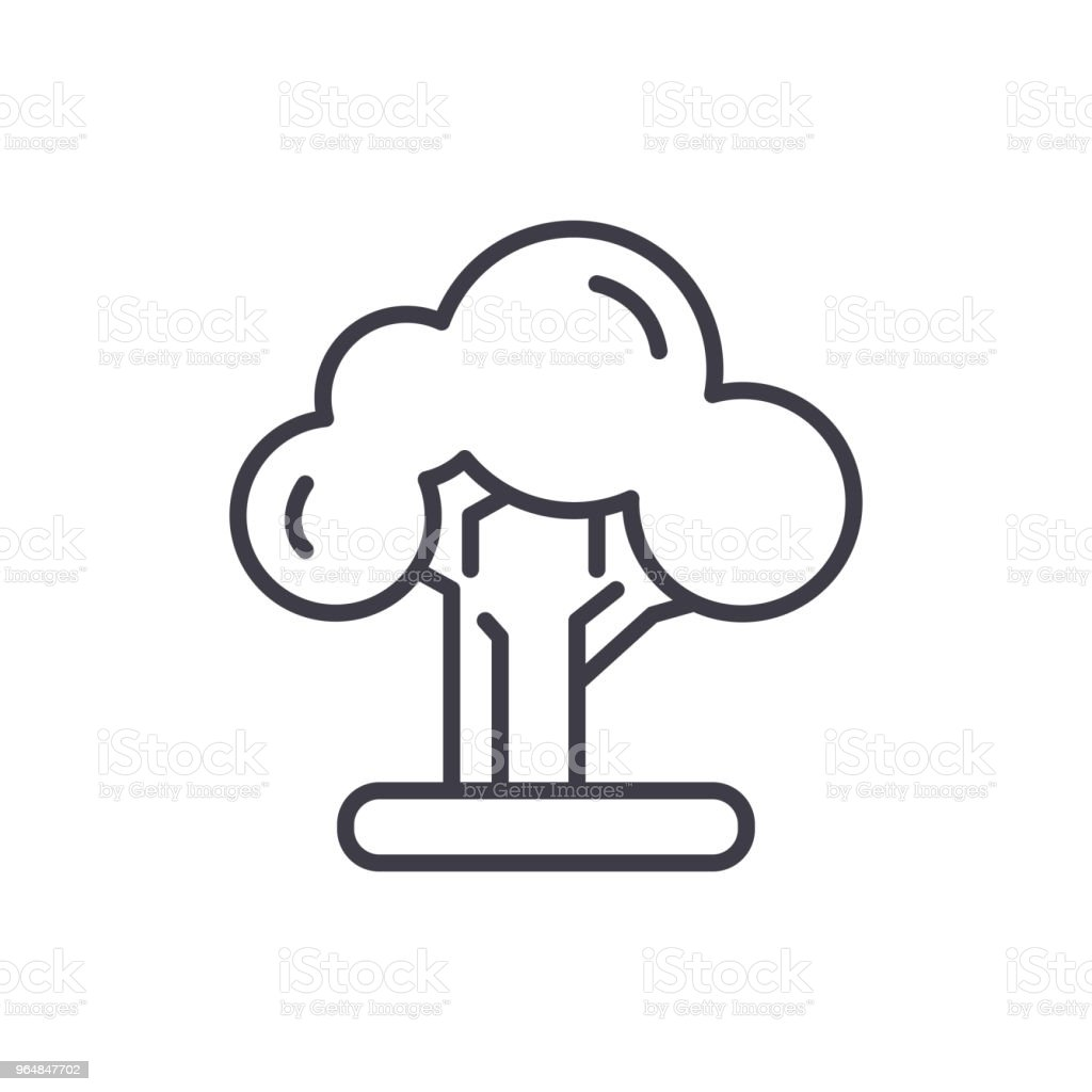Nuclear technologies black icon concept. Nuclear technologies flat  vector symbol, sign, illustration. royalty-free nuclear technologies black icon concept nuclear technologies flat vector symbol sign illustration stock vector art & more images of battery