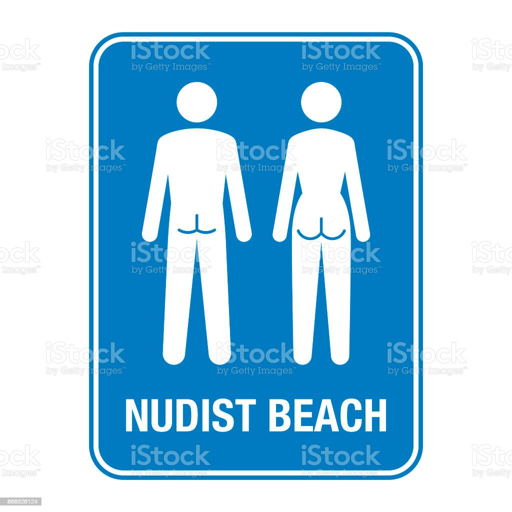 Clip art nude beach sign pics 823