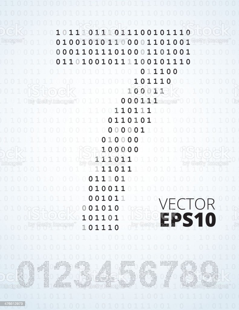 Number 09 alphabet from binary code stock vector art more images number 0 9 alphabet from binary code royalty free number 09 alphabet from biocorpaavc Gallery