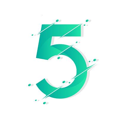 Number 5 design