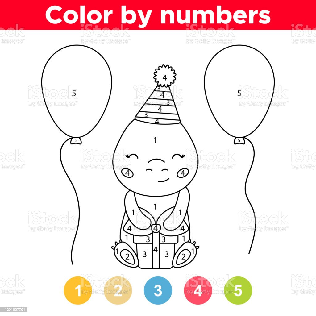 Color By Number Truck | Preschool coloring pages, Preschool colors ... | 1024x1024