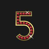 Number five symbol