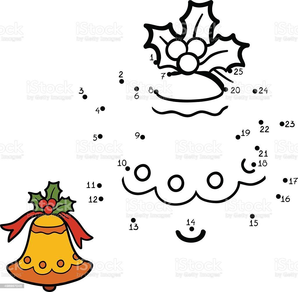 Ilustracion De Numeros De Juegos Para Ninos De Navidad Bell Y Mas