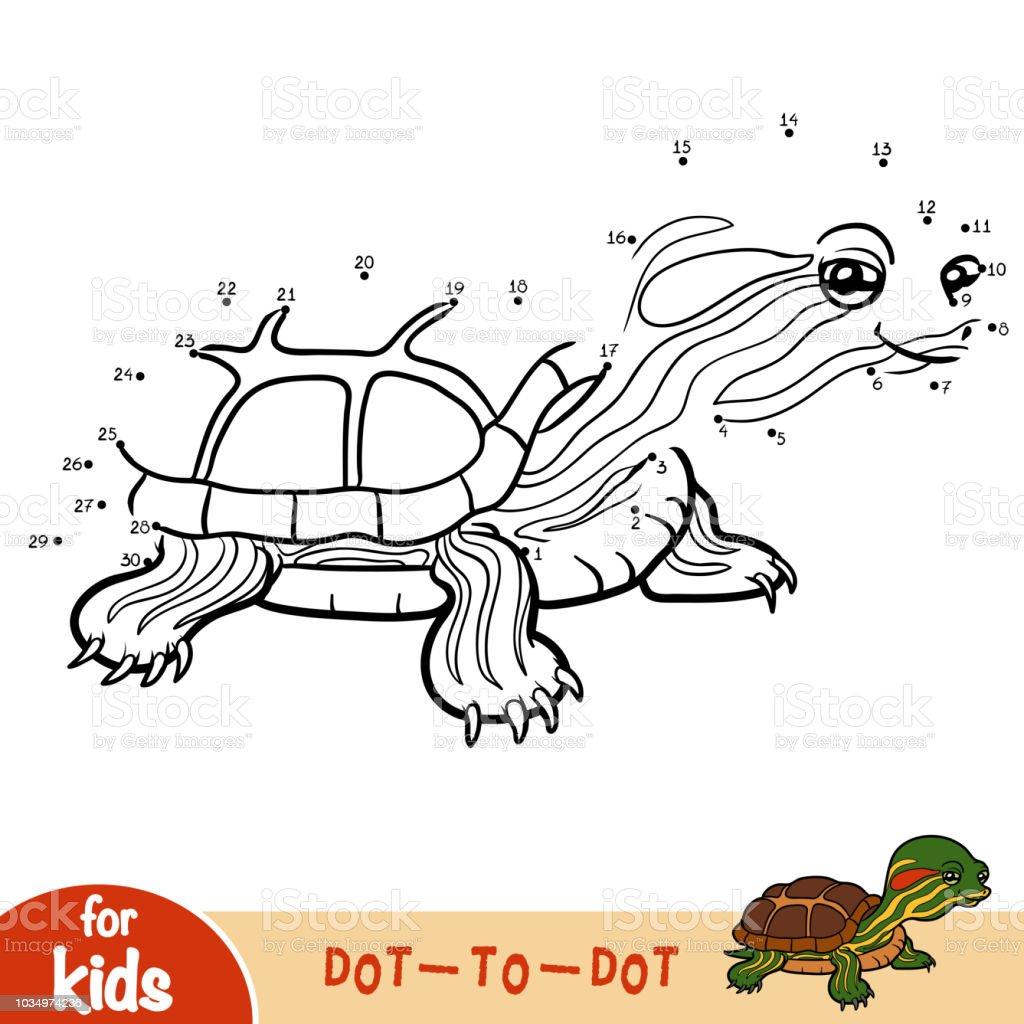 Ilustración de Juego De Números Juego Para Niños Deslizador De ...