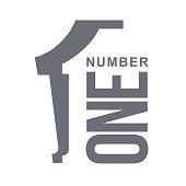 numeric icon one