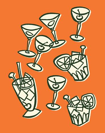 Numerous Cocktails