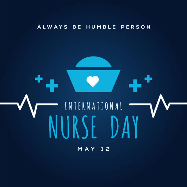 Nurse Day Vector Design Illustration For Celebrate Moment vector art illustration