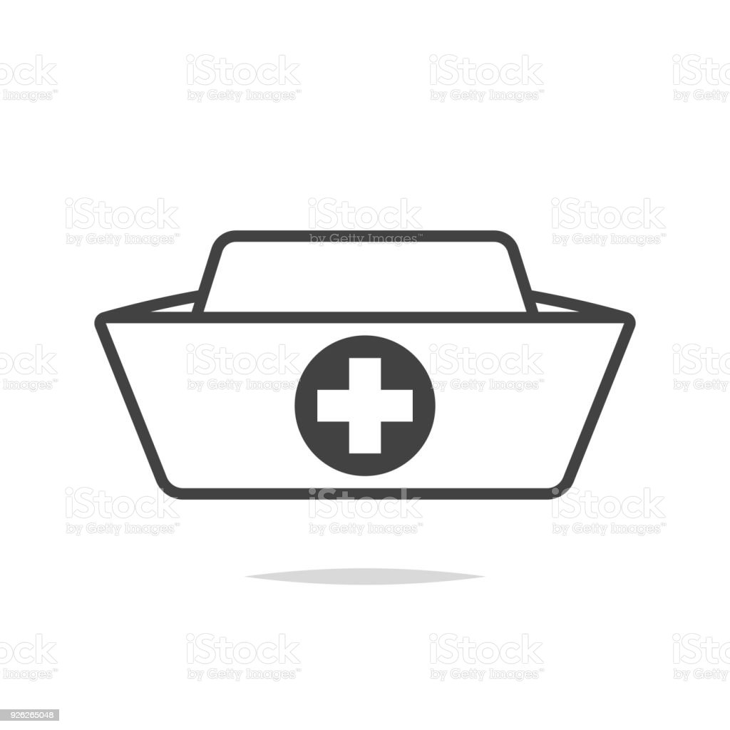 royalty free nurses cap clip art vector images illustrations istock rh istockphoto com  nurse cap clip art free