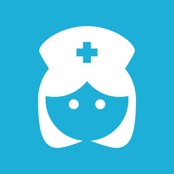 illustrations, cliparts, dessins animés et icônes de infirmière icône - aide soignant