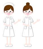 Illustration of a nurse guiding you