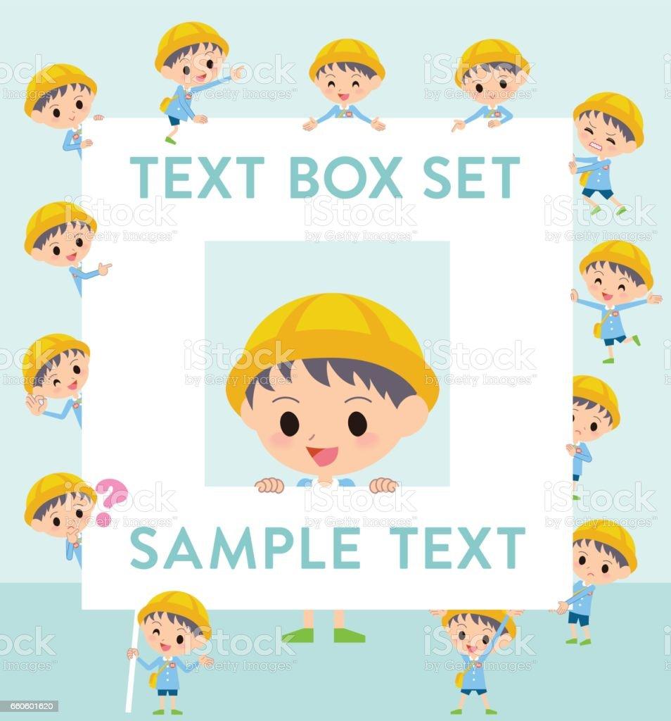 Nursery school boy text box royalty-free nursery school boy text box stock vector art & more images of adult