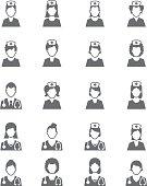 Nurses icons