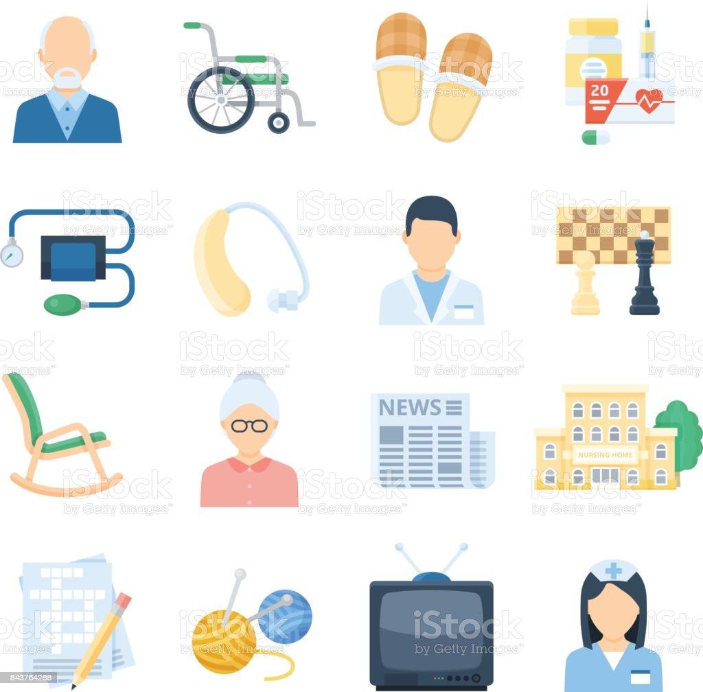 soins infirmiers domicile soins dessin anim ensemble cliparts vectoriels et plus d 39 images. Black Bedroom Furniture Sets. Home Design Ideas