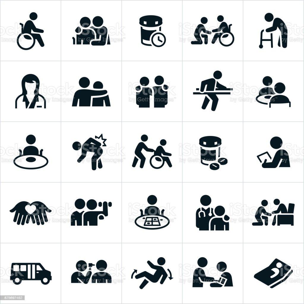Nursing Home Icons