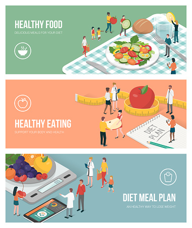 Nutrition, diet and healthy lifestyle