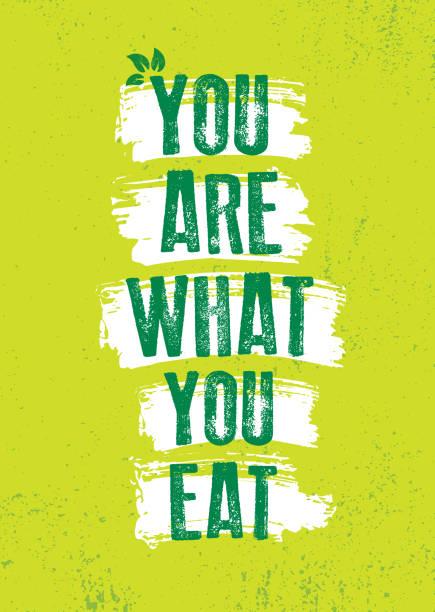 栄養健康食品の動機のポスターテンプレート。 - ポキ点のイラスト素材/クリップアート素材/マンガ素材/アイコン素材
