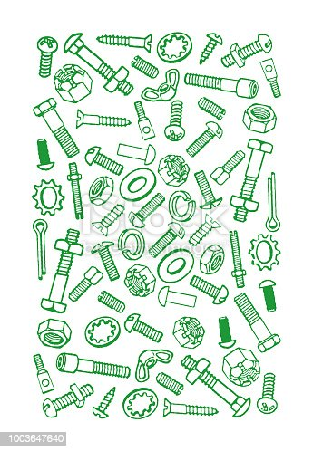 Nuts and Bolts Pattern