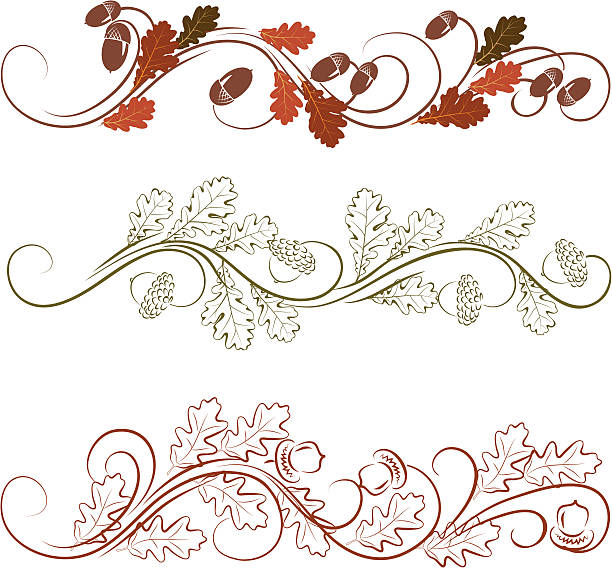 Oak leaves ornament file_thumbview_approve.php?size=1&id=17939775 oak leaf stock illustrations