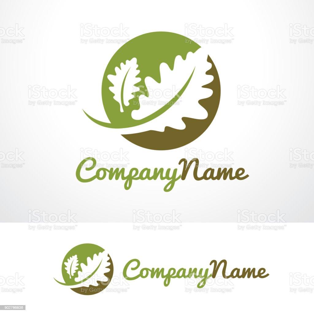 Oak Life Symbol Template Design Vector, Emblem, Design Concept, Creative Symbol, Icon