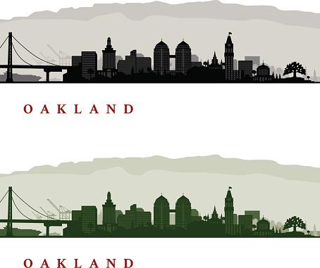 Oakland California Cityscapes