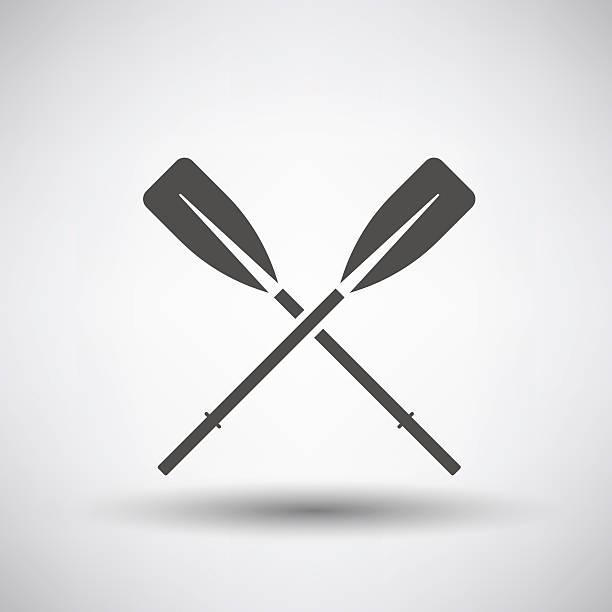 Ruder-Symbol – Vektorgrafik
