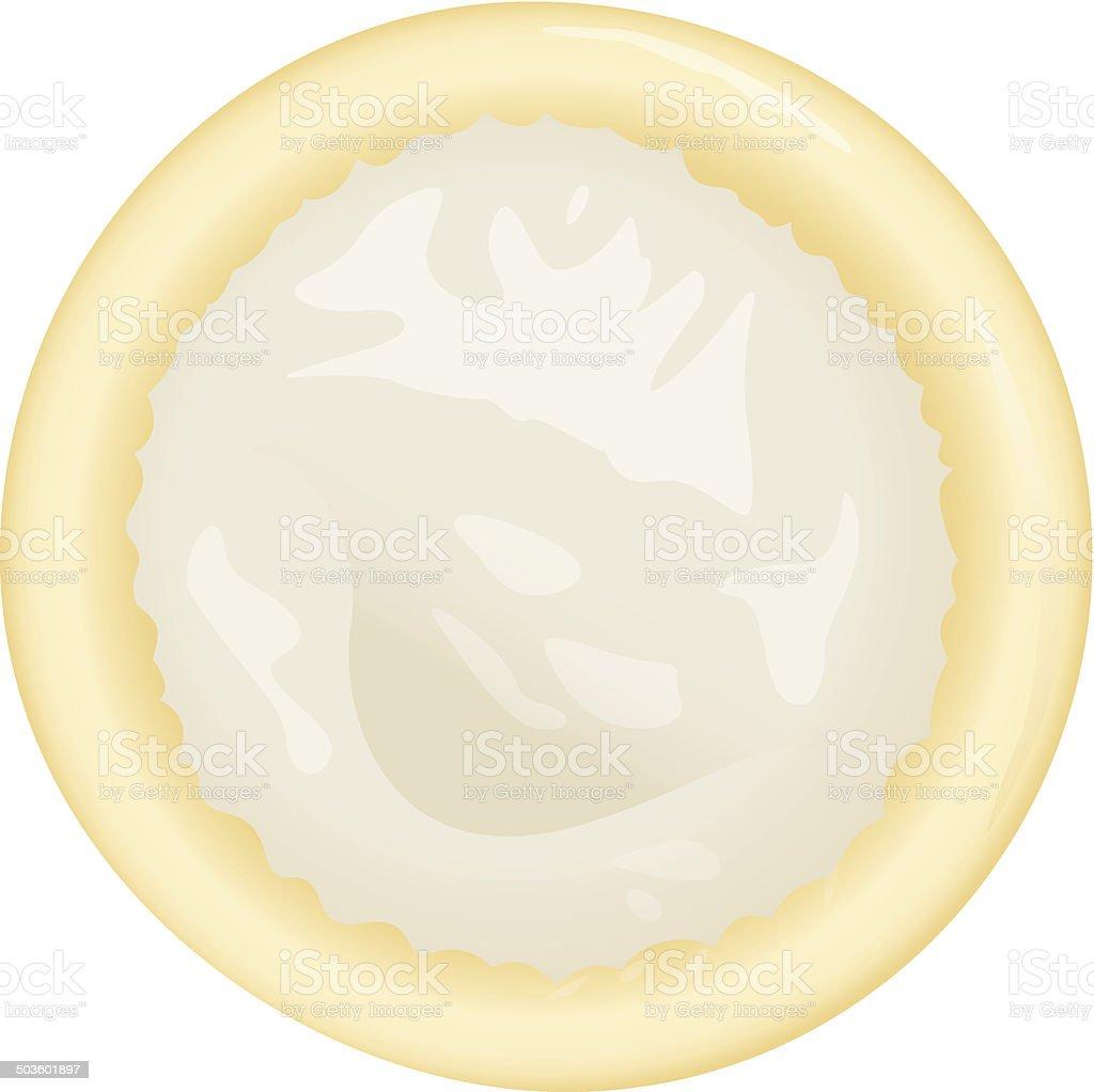 Object condom vector art illustration