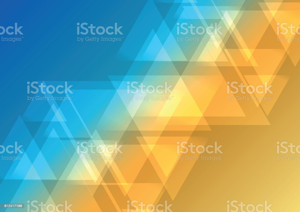 oblique abstract triangle overlap background vector art illustration