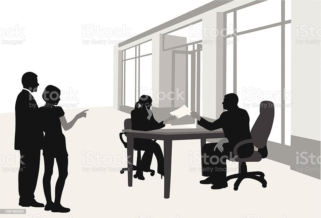 Observations Vector Silhouette vector art illustration