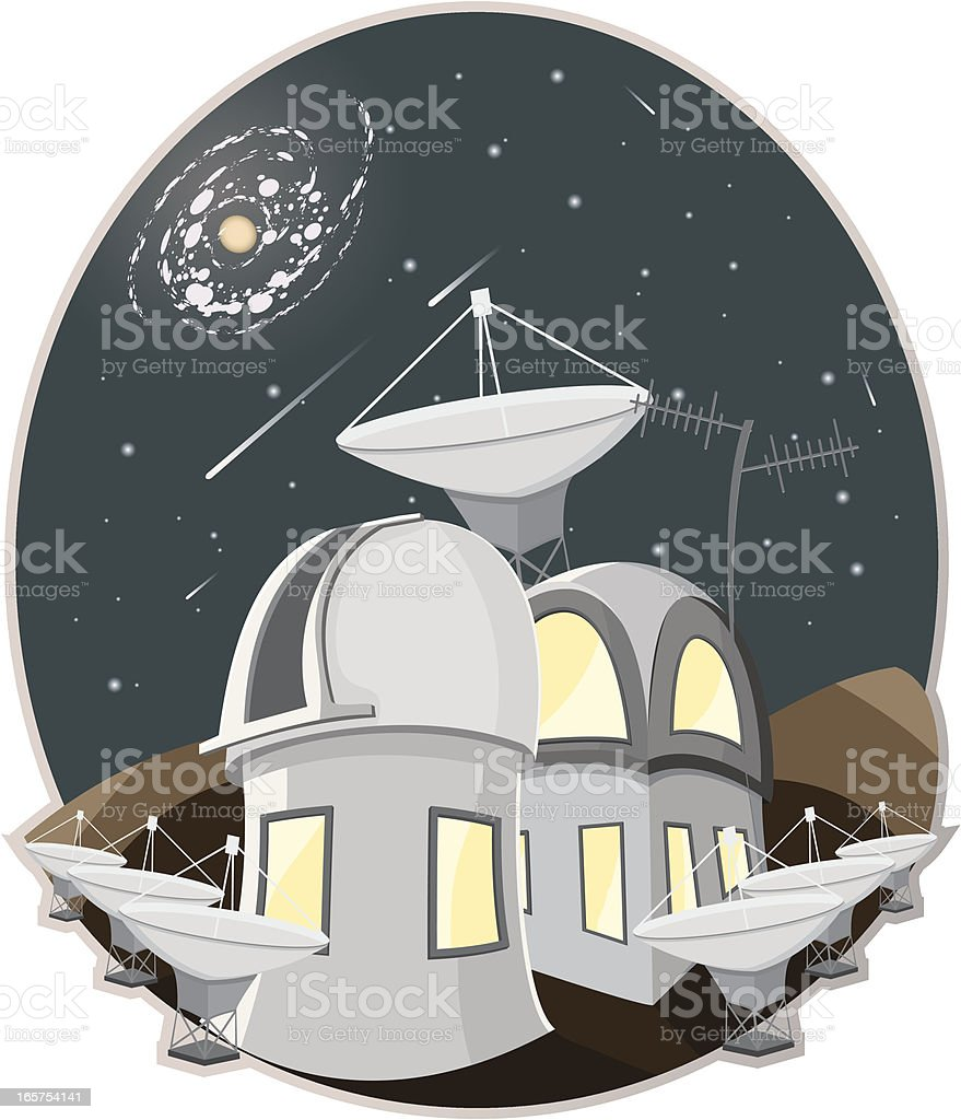 Observatory. royalty-free observatory stock vector art & more images of abstract