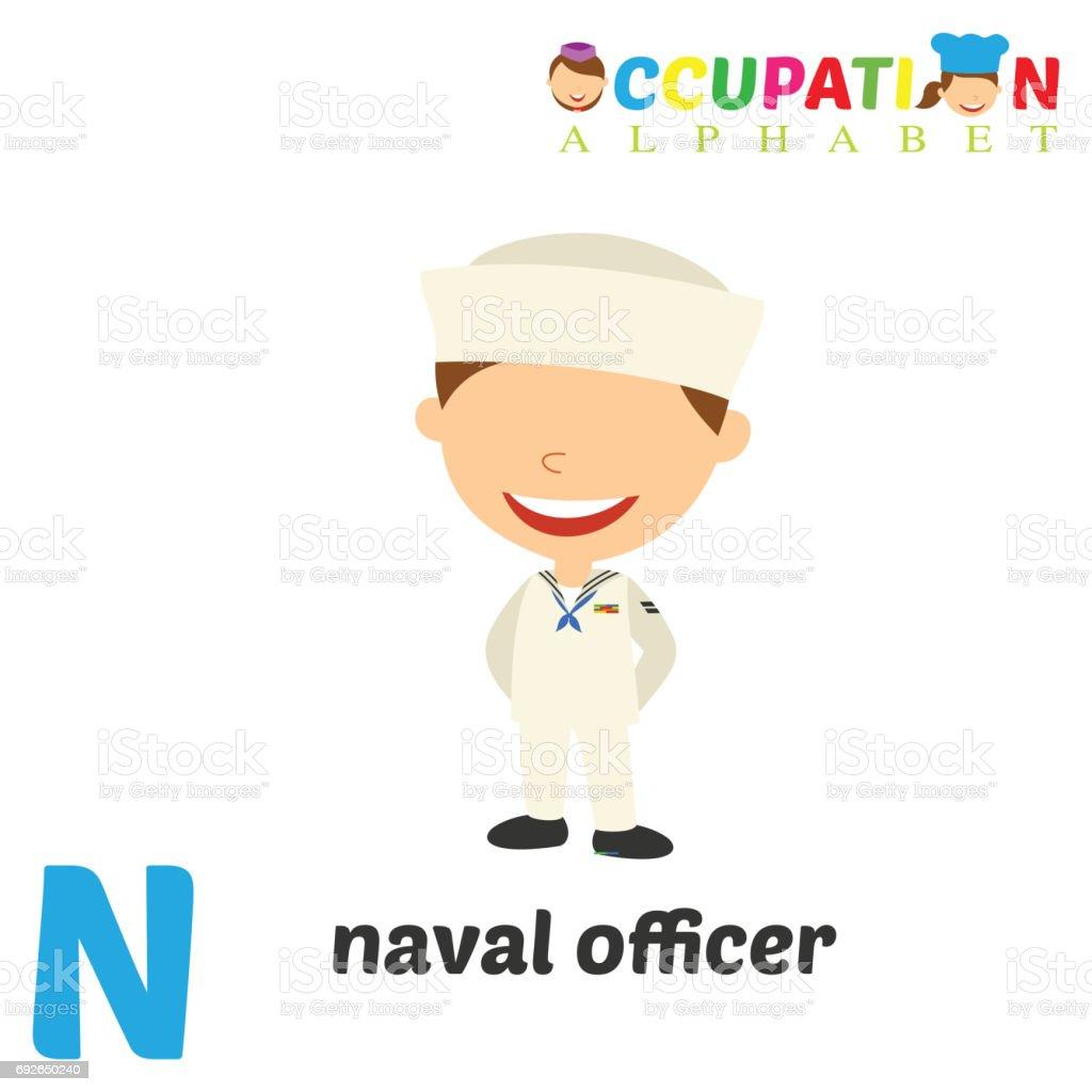 d19998168 Alfabeto de ocupação com a letra N ilustração de alfabeto de ocupação com a letra  n e