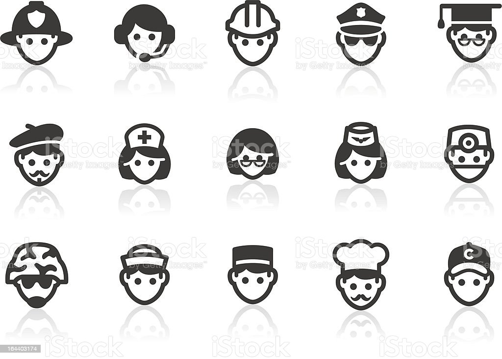 Occupation icons royalty-free occupation icons stock vector art & more images of adult